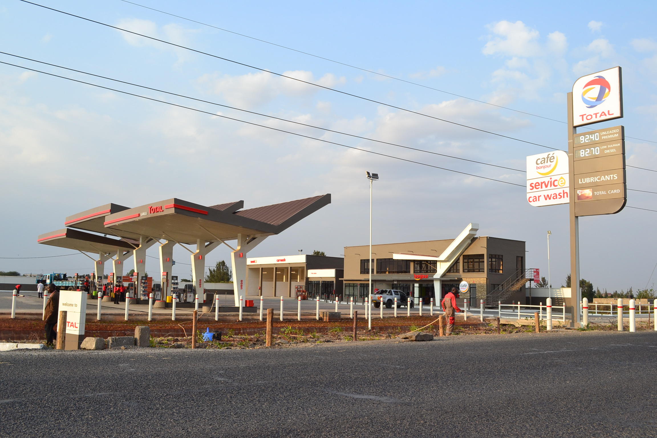 Total Kamulu service station