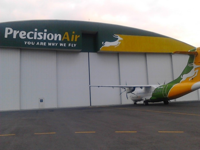 Precision Air Hangar in Dar Es Salaam Tanzania