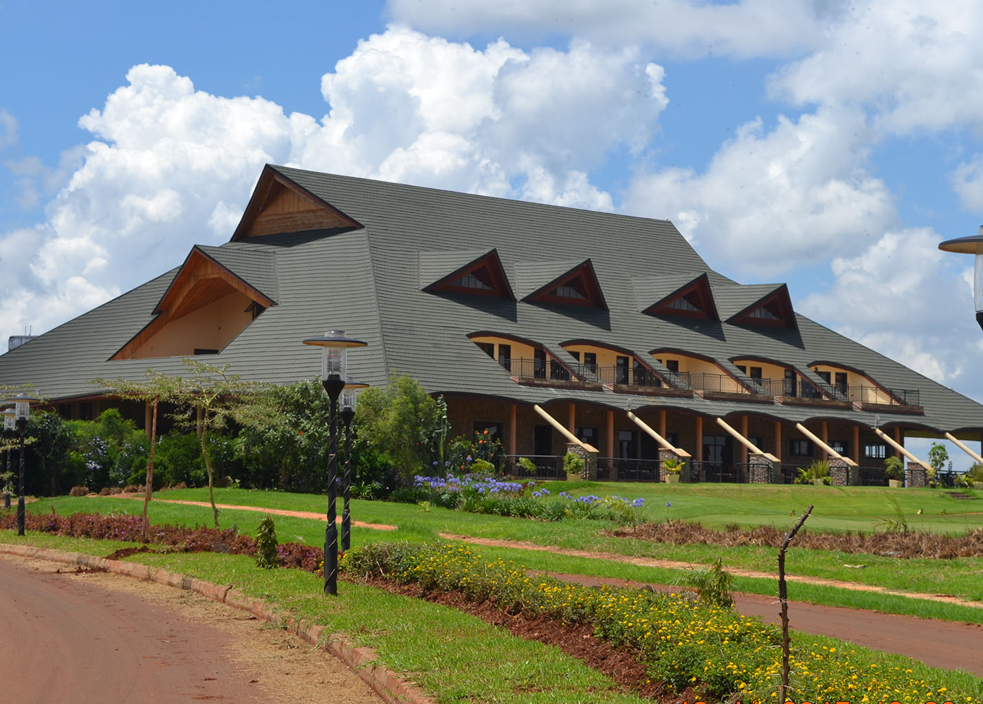 Thika Greens Golf Clubhouse designed by E.D.G. & Atelier Architects
